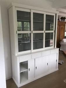 Schrank Weiss Landhausstil : vitrinenschrank geschirrschrank vitrine im landhausstil buffet schrank wei breite 166 cm ~ Sanjose-hotels-ca.com Haus und Dekorationen