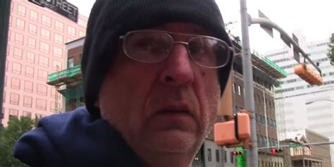 homeless mans day   life video challenges