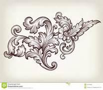 Vintage Baroque Floral...
