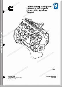 Cummins Isb Qsb 5 9 Engine Troublshooting Repair Manual