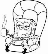Coloring Pages Sick Spongebob Cartoon Characters Bob Sheets Gary Printable Colouring Drawings Squarepants Cartoons Blank Sponge Christmas Drawing Clipart Printables sketch template