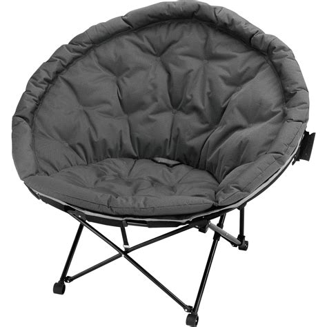 fauteuil de jardin en acier moon noir et gris leroy merlin