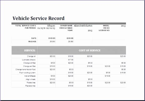 vehicle log book exceltemplates exceltemplates