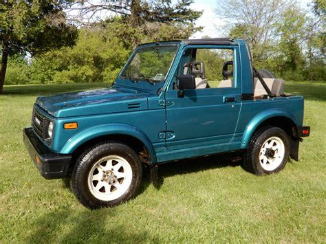 Used Suzuki Samurai For Sale by 1987 Suzuki Samurai Convertible Used Suzuki Samurai For