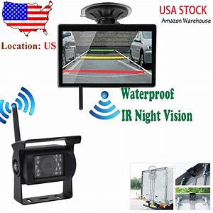 Digital Wireless Rear View Backup Camera System 5 U0026quot  Lcd For