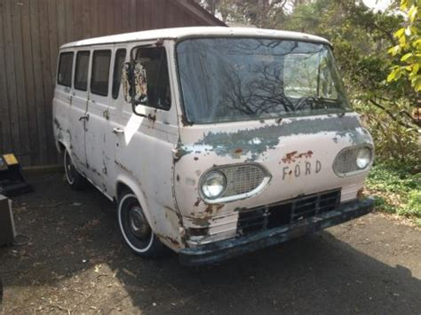 Find Used 1964 Ford Rare Econoline Window Van For Parts Or