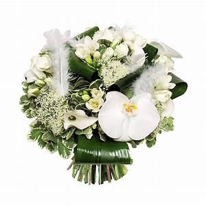 Bouquet Fleurs Blanches : bouquet de fleurs blanches l 39 atelier des fleurs ~ Premium-room.com Idées de Décoration