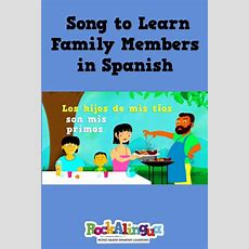 165 Best Spanish Familia Unit Images On Pinterest  Spanish Classroom, School And Teaching Spanish