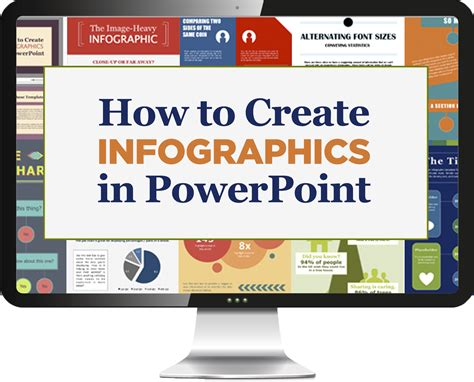 template   create infographics  powerpoint