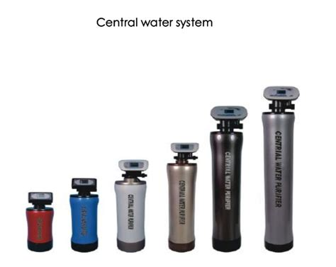 Iso 9001 Central Water Filter System( 2000l/hr Remove 99.9