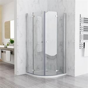 Viertelkreis Duschkabine 80x80 : 80 x 80 cm duschkabine viertelkreis runddusche faltt r 180 ~ Watch28wear.com Haus und Dekorationen