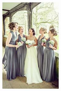 Charcoal wedding dress from twobirds bridesmaids hitched for Charcoal dresses for weddings