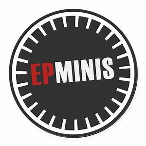 official epminis logo round car magnet by epminis With kitchen colors with white cabinets with round sticker logo
