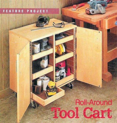 roll  tool cart plans woodarchivist