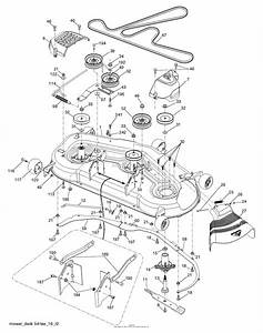Husqvarna 54 Inch Deck Belt Diagram