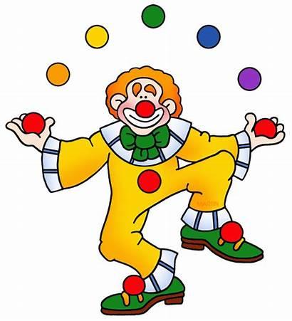 Clown Clipart Juggling Juggler Birthday Clip Clipartmag