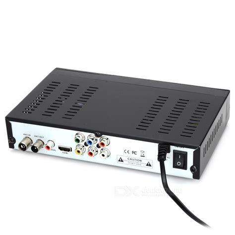 dvb t2 gebühren h 264 mpeg4 dvb t2 hd sdtv receiver digital television box black free shipping dealextreme