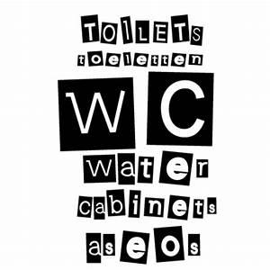 stickers wc pour abattant avec textes toilettes en langues With affiche chambre bébé avec champ de fleurs le bon coin