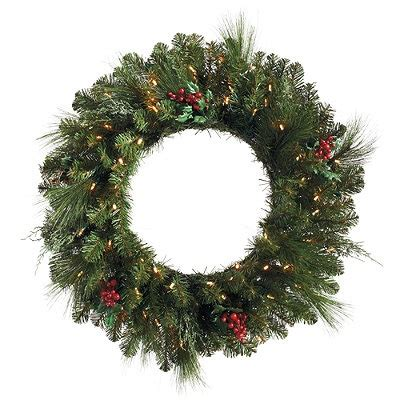 cordless wreath frontgate outdoor holiday decor