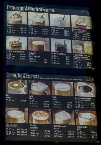 Use this menu information as a guideline, but please be aware that over time, prices and menu items may change without being reported to our site. Menu Prices Starbucks Paducah - Sanders & Hinkleville - Photo News 247