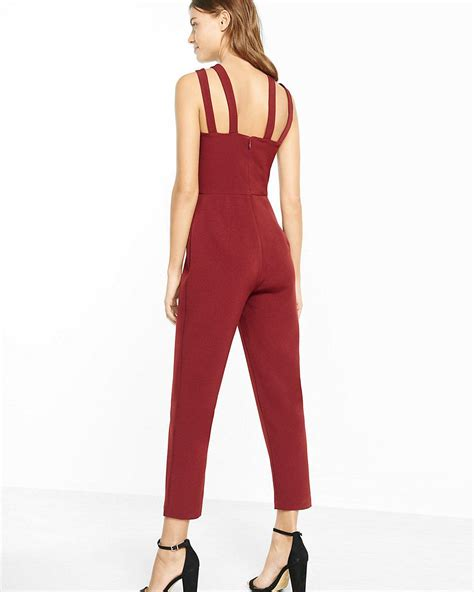 express jumpsuits express jumpsuit in lyst