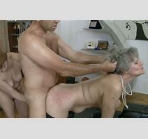 Grey Haired Old Tramps Got Anal Fucked Hard From Behind