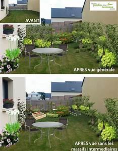 amenager un jardin tout en longueur monjardin materrassecom With amenager un jardin en longueur