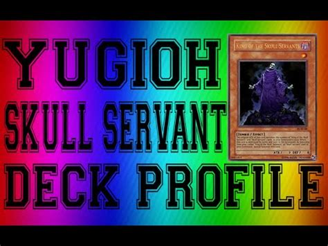 yugioh best skull servant deck profile a lot of fun
