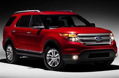 ford explorer unveiled