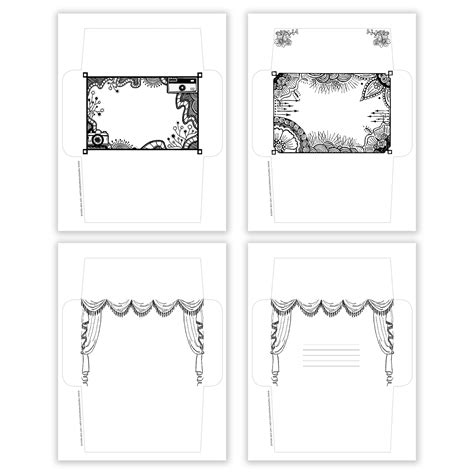 mail envelope template printable mail envelope templates the postman s knock