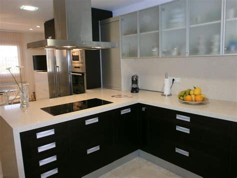 Kitchen Decor Ideas 2013 - fotos de cocinas pequenas y de color oscuro myideasbedroom com