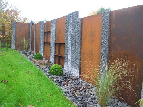 Sichtschutz Garten Eisen by Sichtschutz Stahl
