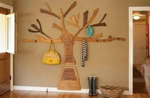 Baum Als Garderobe : garderobe ideen 19 ausgefallene aufh ng m glichkeiten ~ Buech-reservation.com Haus und Dekorationen