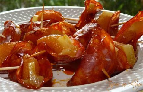 faire revenir cuisine tapas au chorizo les délices de capu