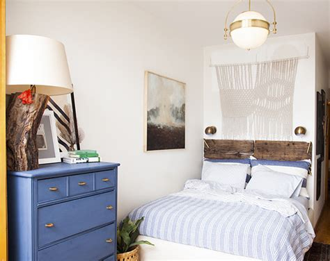 Small Bedroom Makeover by Before After A Small Space Bedroom Makeover Lonny