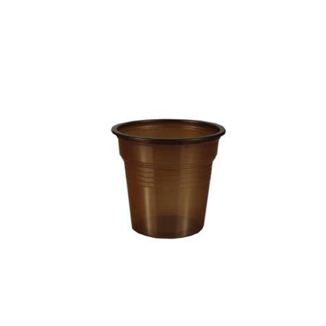 Espresso Kopjes Plastic by Espresso Kopjes Ps 0 08 L 216 5 7 Cm 183 5 3 Cm Bruin