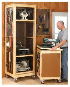Pull Out Cabinet Drawers Home Depot by Woodshop Tool Storage System Project The Project Lady