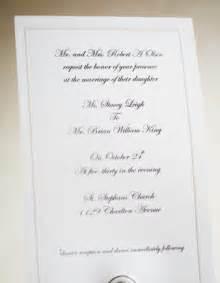 Modern Wedding Invitation Wording Examples