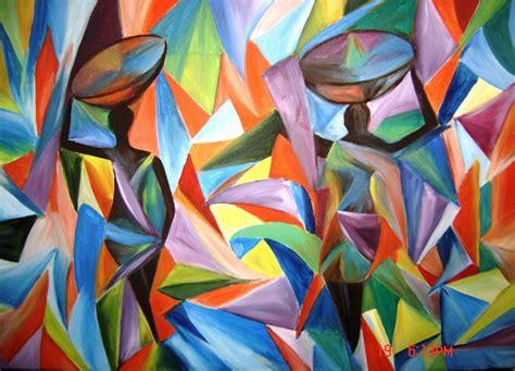 Cubist Art Wallpaper
