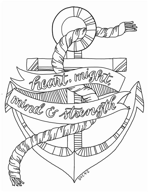Printable Anchor Coloring Pages at GetColorings.com | Free printable colorings pages to print