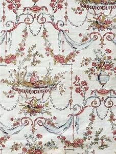 Toile De Jouy : antique french fabric trouvais ~ Teatrodelosmanantiales.com Idées de Décoration