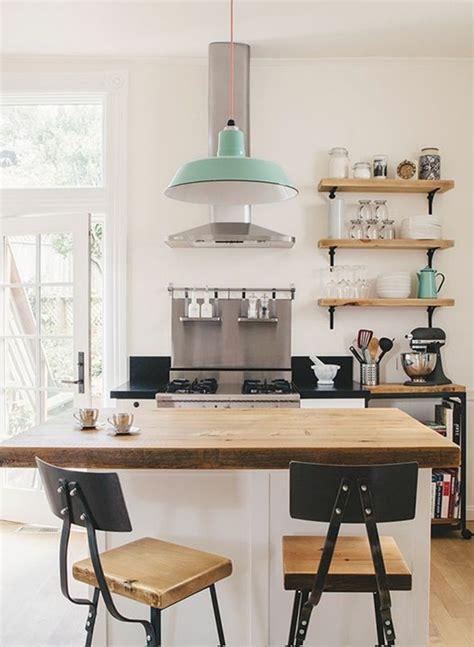 petit ilot cuisine la cuisine équipée avec îlot central 66 idées en photos