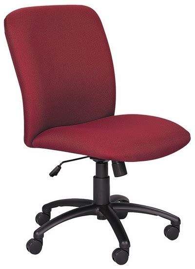 Office Chairs High Weight Capacity by Safco High Back 500 Pound Weight Capacity Chair 3490