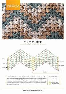 Pattern Diagram For Granny Ripple  Being Able To Use