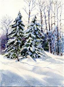 Susie Short s Watercolor Christmas Card Ideas for
