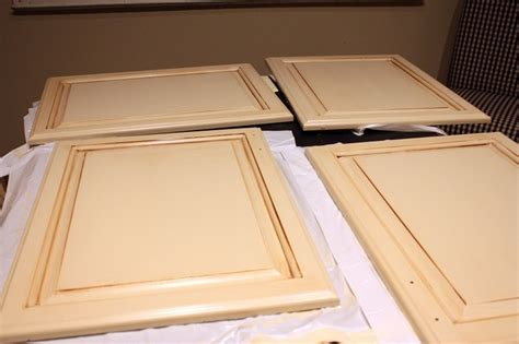 glazing cabinets behr paint  cabinets  pinterest