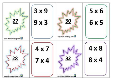 jeu pour apprendre les tables de multiplications 1000 id 233 es sur le th 232 me tableau de multiplication sur astuces de multiplication