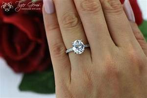 325 ctw oval solitaire ring engagement ring half With wedding band for oval engagement ring