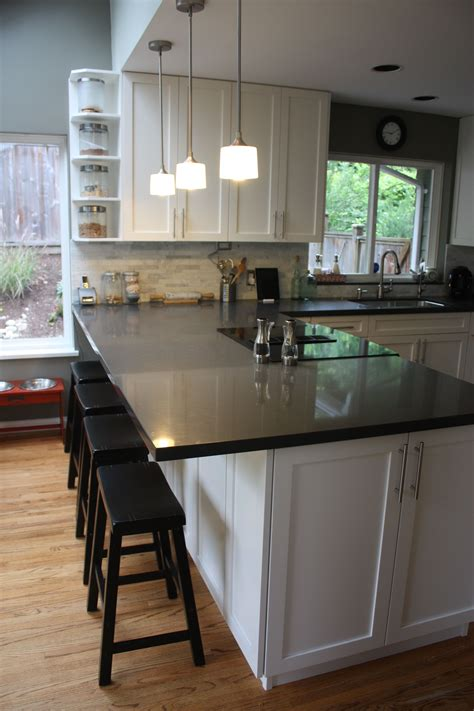 Bar In Kitchen Ideas by Breakfast Bar Extend Cabinet Kitchen