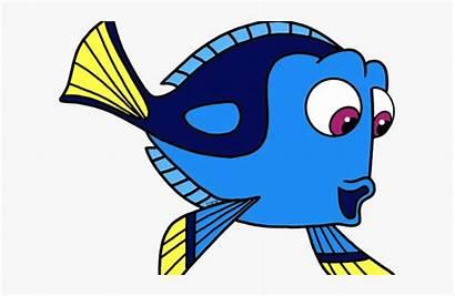 Nemo Dory Fish Cartoon Finding Clipart Stingray
